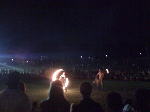 Fire Dance at Foss Hill
