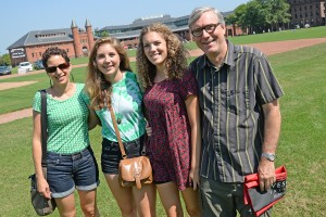 Class of 2018 Arrival Day, Aug. 27, 2014. (Photo by Olivia Drake)