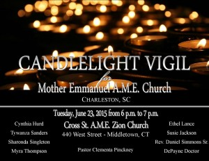 Cross Street Candlelight Vigil